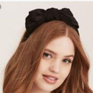 Satin Side Bow Headband